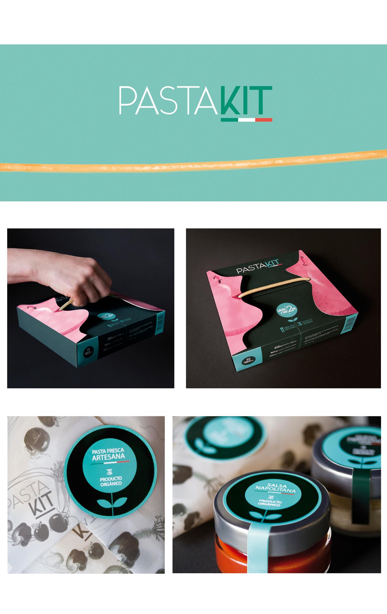 Packaging Pasta Kit