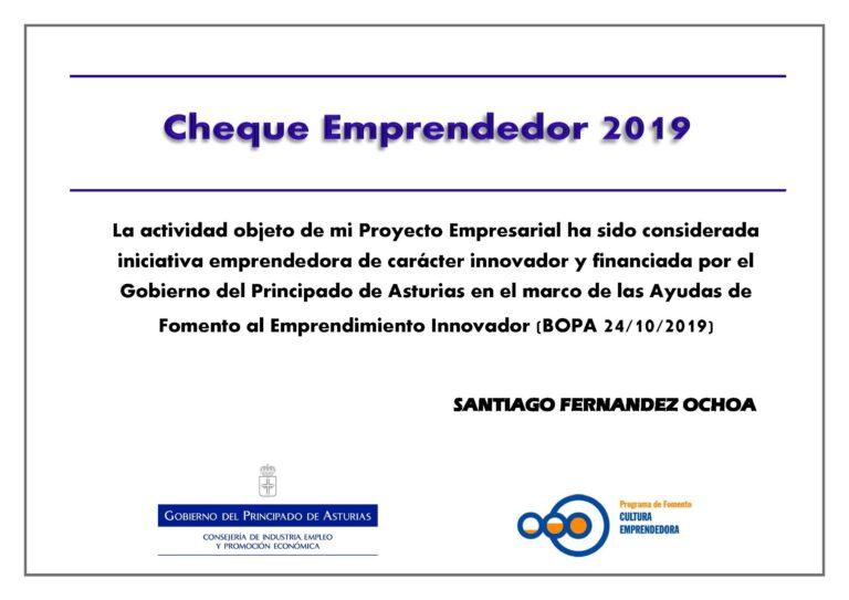 Jardín SEM Cheque Emprendedor 2019